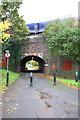 SU7473 : Bridge 3424 over Shepherd's House Lane by Roger Templeman