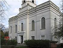 SO9596 : Bilston - St Leonard's Church - west front  by Dave Bevis
