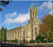SO9596 : Bilston - St Mary's CofE Church on Oxford Street - from SE by Dave Bevis