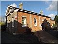 TM2374 : Stradbroke Post Office & Stradbroke Library by Adrian Cable