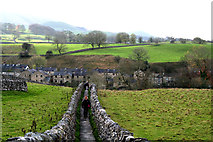SE0063 : Grassington:  Sedber Lane with view to Linton by Dr Neil Clifton