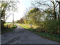 TM1888 : Carpenter's Walk bridleway & entrance to Walk Farm by Adrian Cable