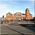 SD3136 : Blackpool Salvation Army Citadel by Gerald England