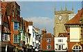 SU1869 : Above the shops, Marlborough by nick macneill