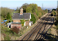 SK7885 : Level crossing keeper's cottage, West Burton by Alan Murray-Rust