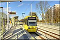 SJ8088 : Baguley Metrolink Stop, The Airport Line by David Dixon