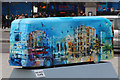 TQ3080 : Bus Art, '360° Panorama of London' by Oast House Archive