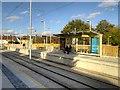 SJ8090 : Manchester Airport Line, Wythenshawe Park Metrolink Stop by David Dixon