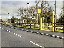 SJ8092 : Sale Water Park Tram Stop, Metrolink Airport Line by David Dixon