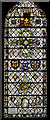 TL5480 : Reset medieval stained glass, Ely Cathedral by Julian P Guffogg