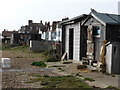 TM4656 : Aldeburgh - fishermen's huts by Chris Allen