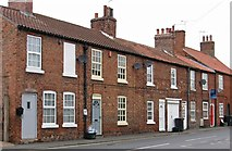 SK6592 : Bawtry - terrace towards southern end of Church Street by Dave Bevis