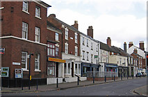 SO9596 : Bilston - Shops on Mount Pleasant - W end by Dave Bevis