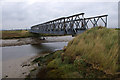 TM4449 : Bailey Bridge over Stony Ditch, Orford Ness by Ian Taylor