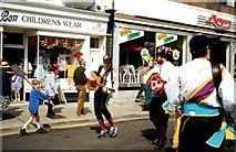 TM3034 : Events in Hamilton Road, Felixstowe by Clint Mann