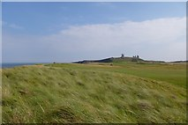 NU2522 : Dunes and golf course by DS Pugh