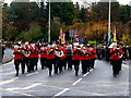 H4572 : Murley Silver Band, Omagh by Kenneth  Allen