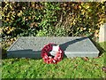 SU5579 : Grave of Laurence Binyon at Aldworth by Fly