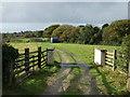 SW8141 : Farm track off the B3289 by JThomas