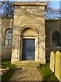 SK9913 : All Saints Church,: The Entrance by Bob Harvey
