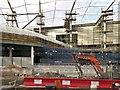 SJ8499 : Building Work at Victoria Station, November 2014 by David Dixon