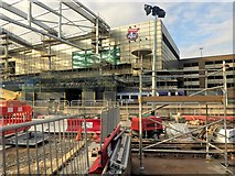 SJ8499 : Construction Work at Manchester Victoria Station by David Dixon