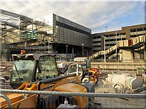 SJ8499 : Victoria Station Redevelopment - November 2014 by David Dixon