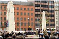 SJ8398 : Remembrance Ceremony, Manchester Cenotaph by David Dixon