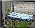 SJ9494 : A fly-tipped mattress by Gerald England