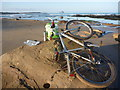 NT6381 : Coastal East Lothian : Tea And Tunnocks At Bathan's Strand, Tyninghame by Richard West