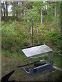 NH9818 : Feeding station, Loch Garten Osprey centre by Hugh Venables