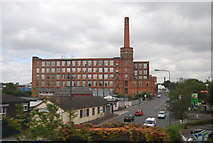 SJ9398 : Cavendish Mill by the A627 by N Chadwick