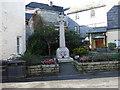 SX0144 : War Memorial, Mevagissey by JThomas
