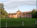 SK7189 : Wiseton Hall stables by Alan Murray-Rust