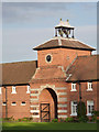 SK7189 : Wiseton Hall stables, main entrance by Alan Murray-Rust
