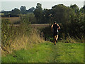 SP2080 : Running south to Barston from Hampton in Arden by Robin Stott