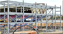 J3272 : The new Railway Stand, Windsor Park, Belfast - November 2014(1) by Albert Bridge