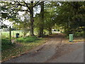 TM2079 : Footpath to the A143 The Street by Adrian Cable