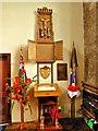 SD7807 : War Memorial Inside St Thomas' Church by David Dixon