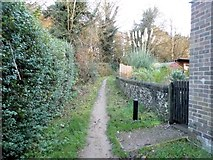 TL1504 : Path from Burydell Lane to Hedges Farm by David Howard
