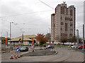 SK5535 : Farnborough Road at Southchurch Drive (north) by Alan Murray-Rust