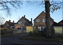 TL0806 : Houses on Pancake Lane, Leverstock Green by David Howard