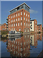 SO8554 : Worcester - former flour mill by Chris Allen