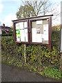 TM2179 : Brockdish Village Notice Board by Adrian Cable