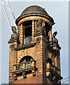 SJ8497 : Former London Road Fire Brigade HQ tower by Thomas Nugent