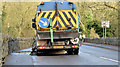 J3067 : Road sweeper, Drumbeg, Dunmurry (November 2014) by Albert Bridge