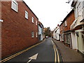 SO9445 : One way along Church Street, Pershore by Jaggery
