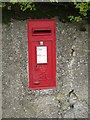 NY0730 : Post box in Broughton Cross by Graham Robson