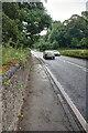 SK2365 : Pavement on the A6 by Mick Garratt