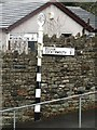 NY0729 : Road sign in Greysouthen by Graham Robson